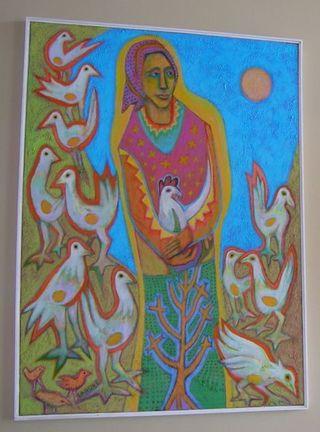 Laduke Chickens blog